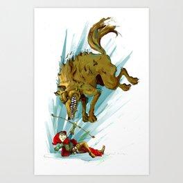 """Red Riding Hood"" Art Print"