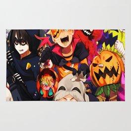 halloween boruto Rug