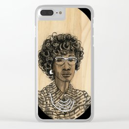 Shirley Chisholm Clear iPhone Case
