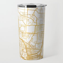 CINCINNATI OHIO CITY STREET MAP ART Travel Mug