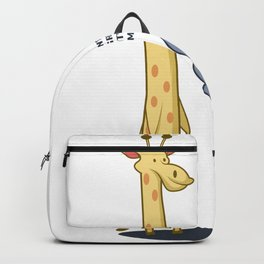 Grow Up Fat Fat And Animal Person Gift Backpack