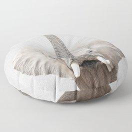 Elephant 2 - Colorful Floor Pillow