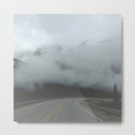 Highway to the Mountain Sky Metal Print