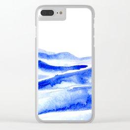 The Blue Ridge Clear iPhone Case