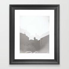 Trippy Building Framed Art Print