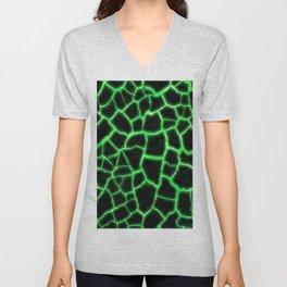 Green Inferno Magma Unisex V-Neck