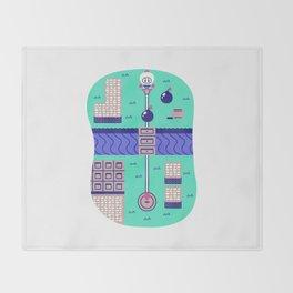 Overworld: Bomba Throw Blanket