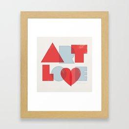 Art Love Framed Art Print