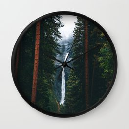 Yosemite Falls - Yosemite National Park, California Wall Clock