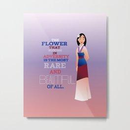 flower that blooms, mulan Metal Print