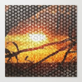 Sunset Geometry | Ferntree Gully Canvas Print
