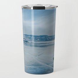 Lake Baikal. March Travel Mug