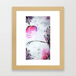Fairy birth Framed Art Print