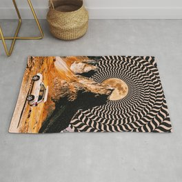 Illusionary Car Trip Rug