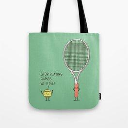 Angry ball Tote Bag