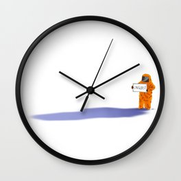 Xenolinguist Wall Clock