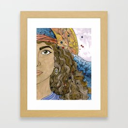 Jael Framed Art Print