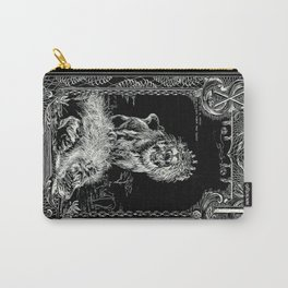 STRENGTH of Tarot Cat Carry-All Pouch