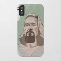 lebowski iPhone & iPod Cases featuring Lebowski by Hero of Switzwerland / Dan Button //