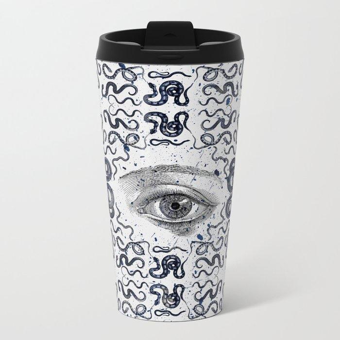 DEVIL EYE Metal Travel Mug