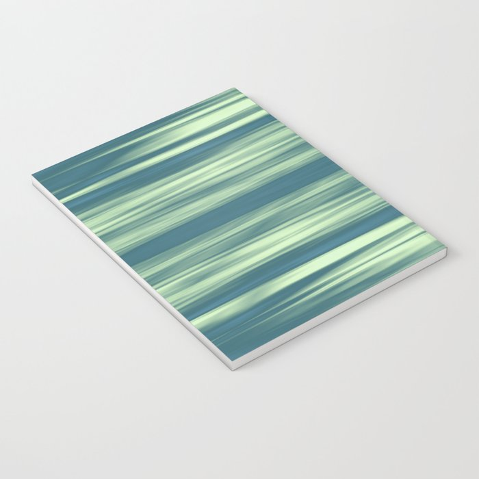 Abstraction Serenity in Afternoon at Sea Notebook