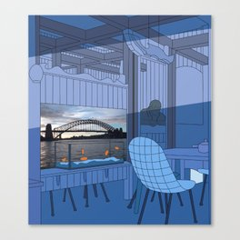 Sydney After Lunch Canvas Print