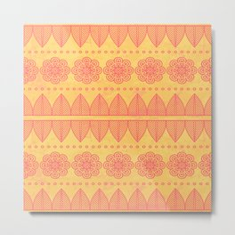 Indian Designs 215 Metal Print