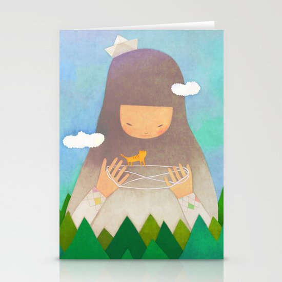 Forest giant Stationery Cards