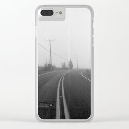 The Long Journey Clear iPhone Case