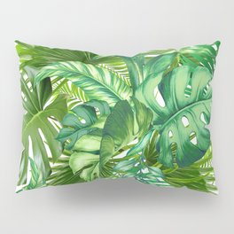 green tropic Pillow Sham