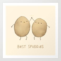 Best Spuddies Art Print