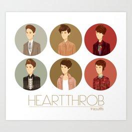 Tegan and Sara: Heartthrob collection Art Print