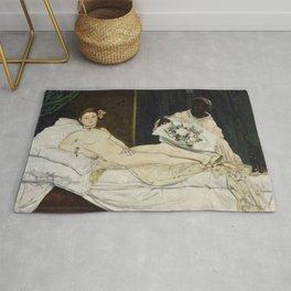 Olympia, Edouard Manet, 1863 Rug