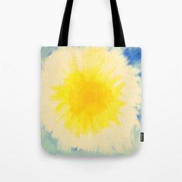 Shine Bright, Dandelion Turning White Tote Bag