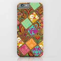 Patchwork Paisley iPhone 6 Slim Case