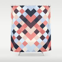 coral Shower Curtains featuring CORAL by Sorbetedelimon