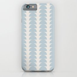 Maude Pattern - Blue iPhone Case