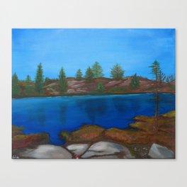 The Barrens, Muskoka Road 13 Canvas Print