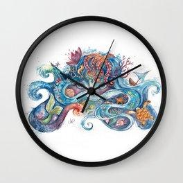 SEA NYMPH Wall Clock