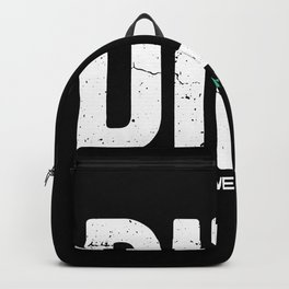 DILF Devoted Involved Loving Father Fathers day Backpack