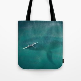 Great Danger Underneath Tote Bag