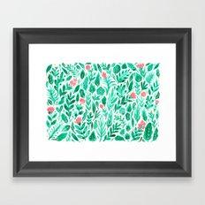 June Blooms Framed Art Print
