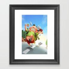 Dooog! Framed Art Print