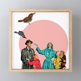 happy family Framed Mini Art Print