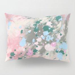 Tie Dye Splatter Pillow Sham