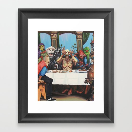 The Best Supper Framed Art Print