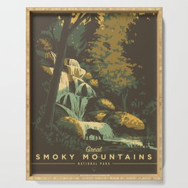 Great Smoky Mountains National Park Serving Tray