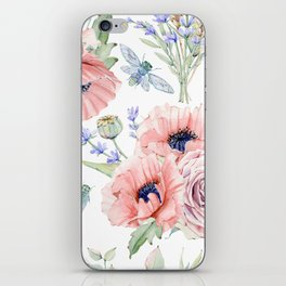 Fall Country Flowers iPhone Skin