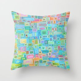 New York Times crossword puzzle Throw Pillow