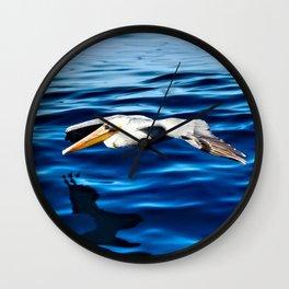 Gliding Grace Wall Clock